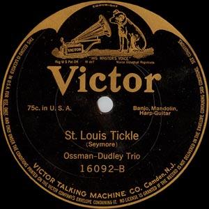 Vess L. Ossman St. Louis Tickle