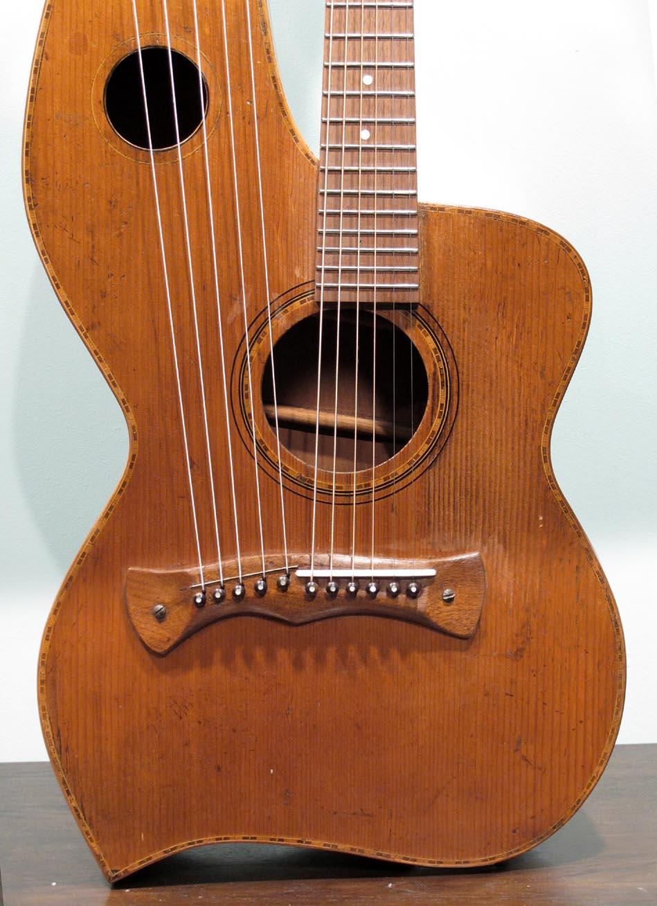knutsen 3  4 scale harp guitar at harp guitar music