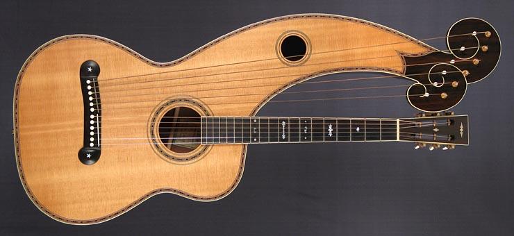 2007 Style 7-Plus Merrill Harp Guitar at Harp Guitar Music